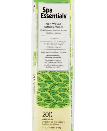 Spa Essentials Lint free 2x2 Esthetic wipes - 200 wipes
