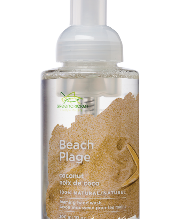 Green Cricket Beach (Coconut) foaming hand wash