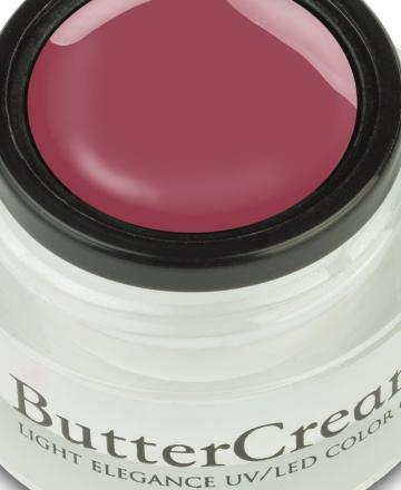 Light Elegance Buttercream UV/LED Colour Gel Peck On The Neck - The Art of Kissing Collection