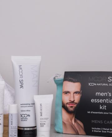Moor Spa Men's Essentials Kit