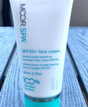 SPF30 face cream