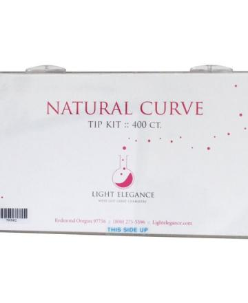 Light Elegance Natural Curve Tip Kit